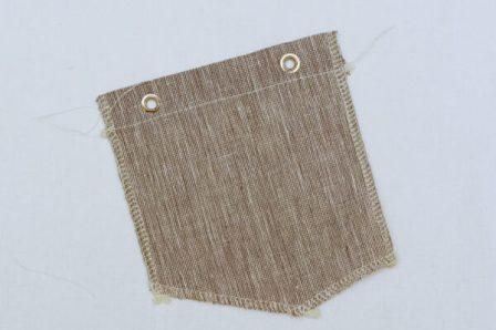 задние карманы детских шорт