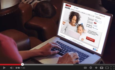 online telehealth consultation