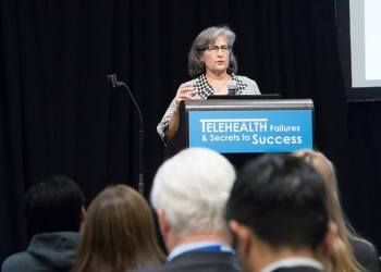 "The role of telemedicine in ""informed health"" – Aenor J Sawyer, MD (UCSF)"