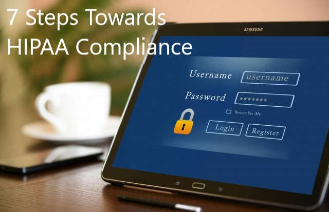 HIPAA secure sign in