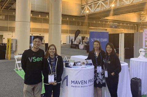 MAVEN Project and VSee at ATA 19