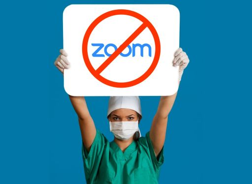 healthcare leaving zoom