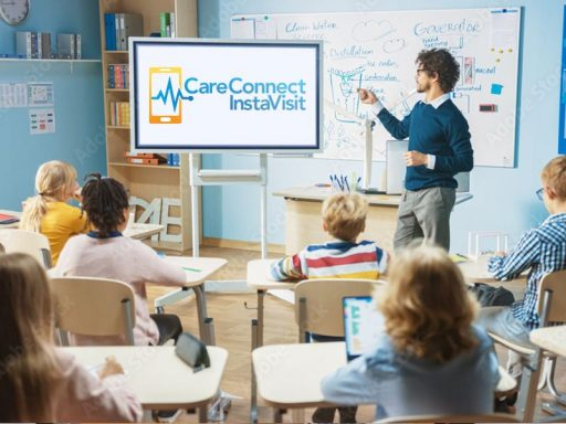 classroom and careconnect logo