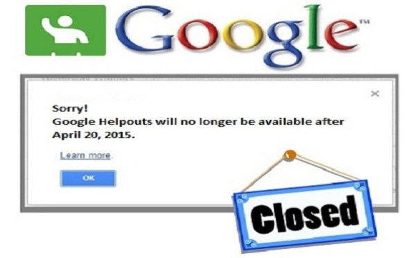 Google Helpouts Shutting Down in April