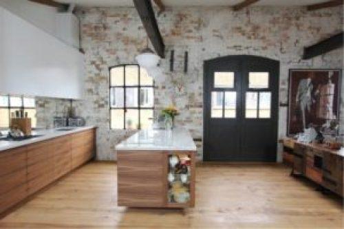 Стиль Лофт в интерьере кухни-2