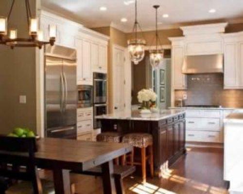 Эко стиль в интерьере кухни-2