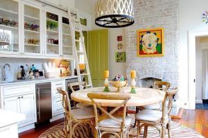 Стиль Эклектика в интерьере кухни-1