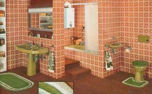 Стиль Китч в интерьере ванной-2