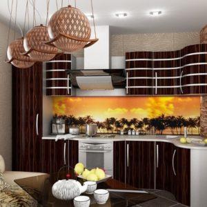 Африканский стиль в интерьере кухни-2