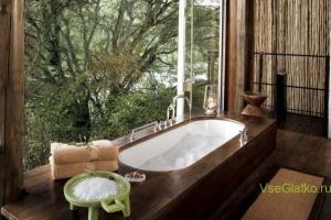 Африканский стиль в интерьере ванной-1
