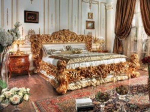 Стиль Ампир в интерьере спальной-2