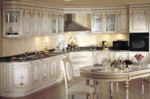 Стиль Барокко в интерьере кухни-1
