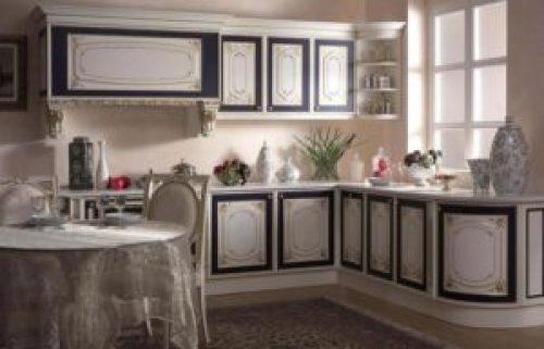 Стиль Барокко в интерьере кухни-2