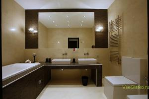 Стиль Минимализм в интерьере ванной-1