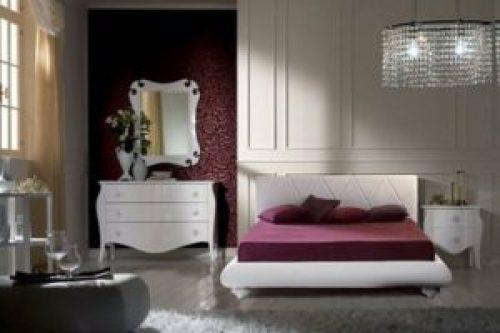 Стиль Модерн в интерьере спальной-2