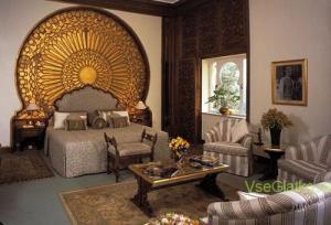 Египетский стиль в интерьере спальной-1