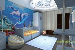 Молодежный стиль в интерьере детской комнаты-4
