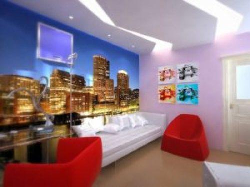 Молодежный стиль в интерьере детской комнаты-5