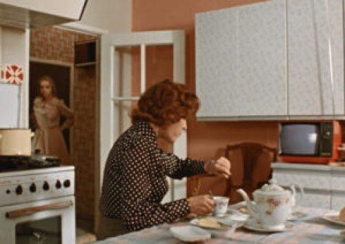 Советский стиль в интерьере кухни-2