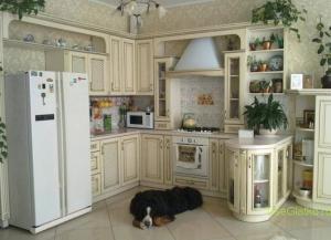 Стиль Прованс в интерьере кухни-1
