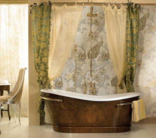 Стиль Рококо в интерьере ванной-2