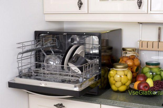 Посудомоечная машина настольная