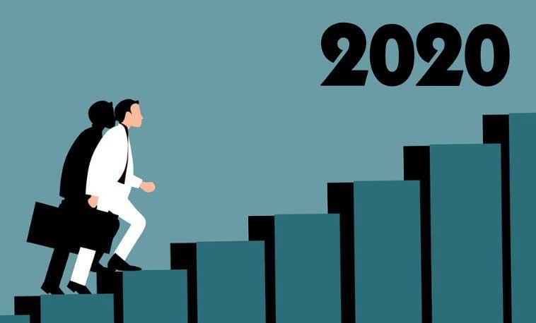 през 2020