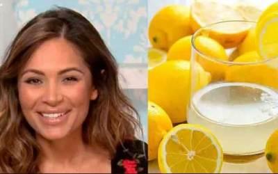 Мед с вода и лимон