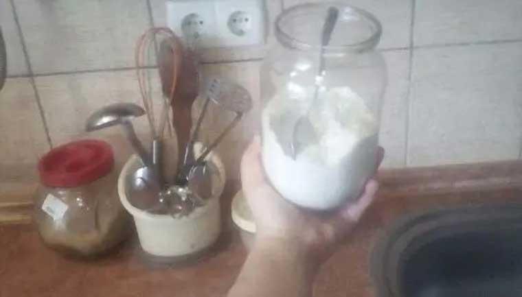 сол със захар