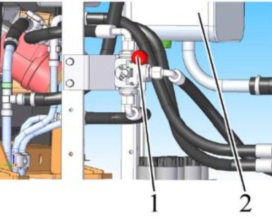 кран переключения реверсного управления МТЗ 3022