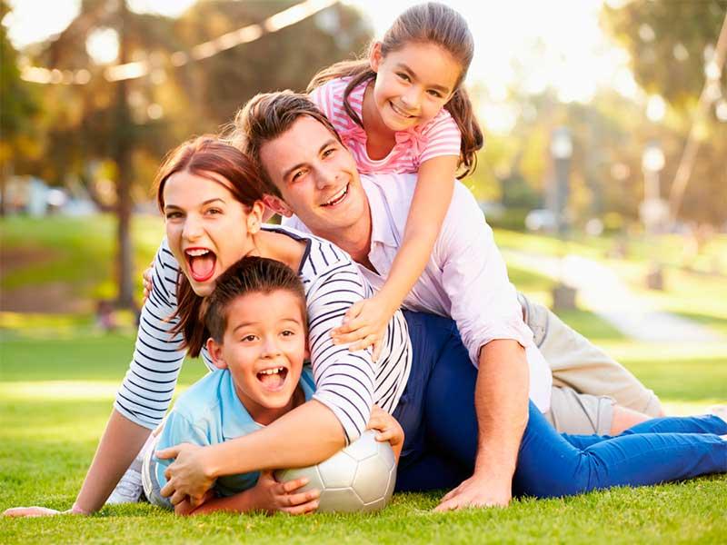 Семейное счастье.