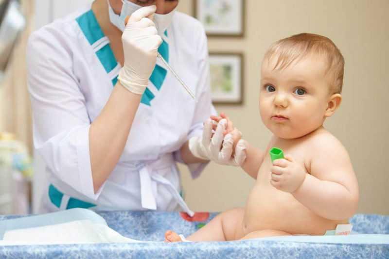 Уровень лейкоцитов в крови у ребенка