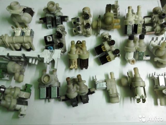 разные виды электроклапанов