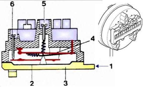 схема датчика уровня воды