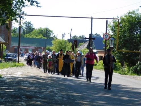 В Уржуме состоялся двухдневный Тихоновский крестный ход + фото