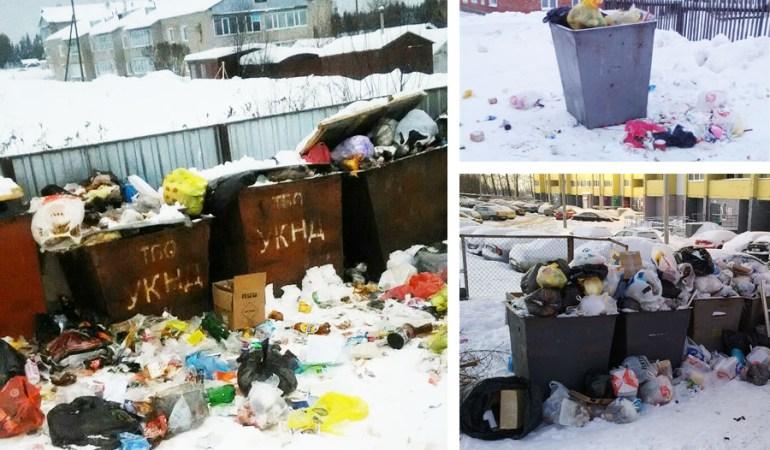 мусор Кировская область