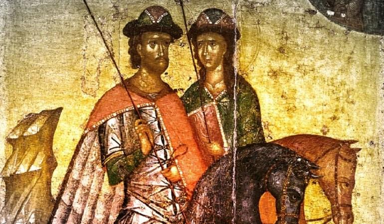 6 августа, чтут память мучеников Бориса и Глеба