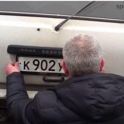 Для чего водители устанавливают магнит под номер