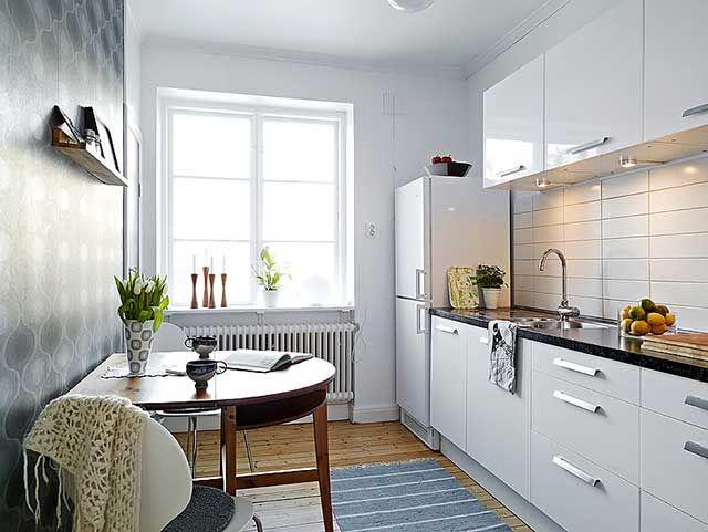 дизайн кухни 13 квадратных метров 1