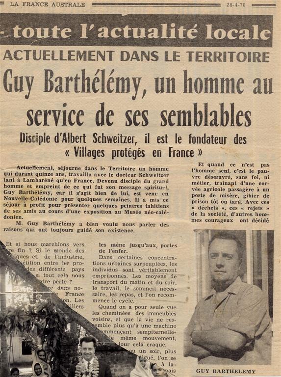 France Australe 1970