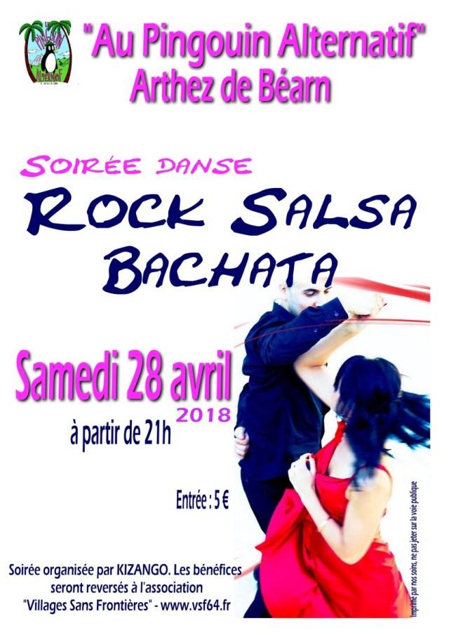 Soirée danse Rock Salsa2018