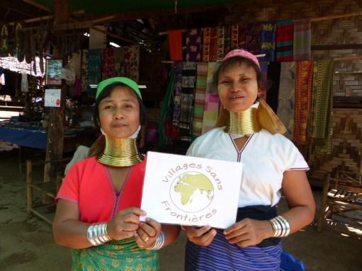 Tribu Karen en Thaïlande