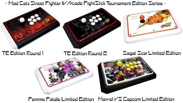 Mad Catz Street Fighter IV Arcade FightStick Collage