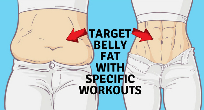 Feature | How to Target Belly Fat Through Different Types of Training | lose belly fat fast