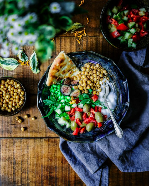 Chickpea Salad Bowl   Healthy Weight Loss Meals To Try   healthy food to lose weight