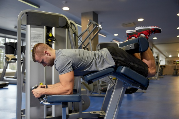 Lying Leg Curls   Ultimate Leg Day Workout   No Chicken Legs!   leg workouts for men