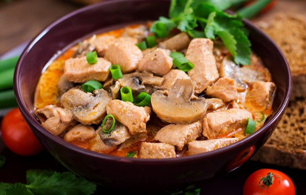 Chicken And Mushroom Stew | Easy Healthy Dinner Ideas To Add To Your Weekly Rotation
