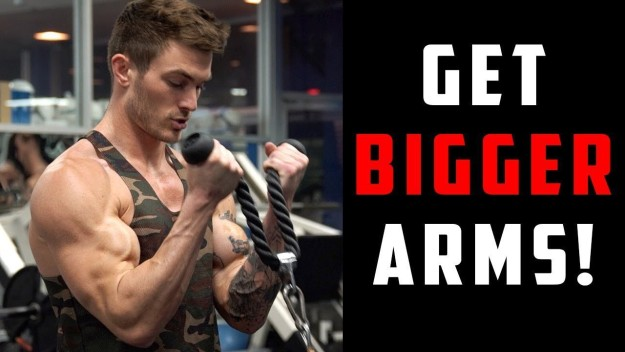 Bicep & Tricep Workout | 8 Arm Exercises for Bigger Arms! | Best Arm Workouts For Every Upper Arm Muscle