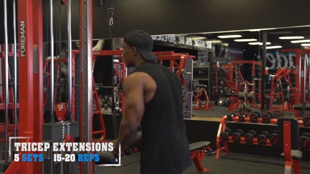 Triceps Extensions | The Top 5 Workouts For Bigger Arms