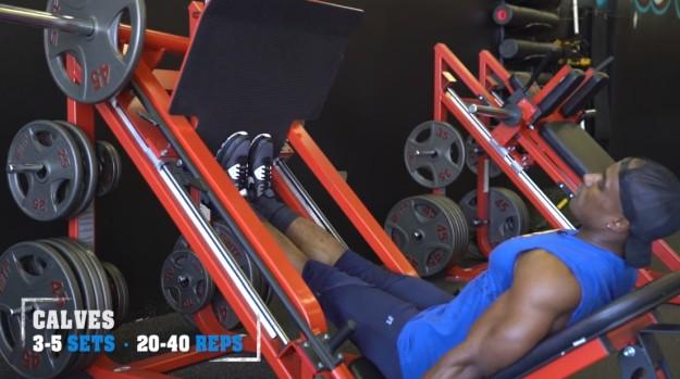 Calves | V Shred's Ultimate Full Leg Workout